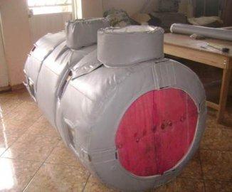 Isolamento Térmico Removível - Trocador de Calor-Permutadores 1